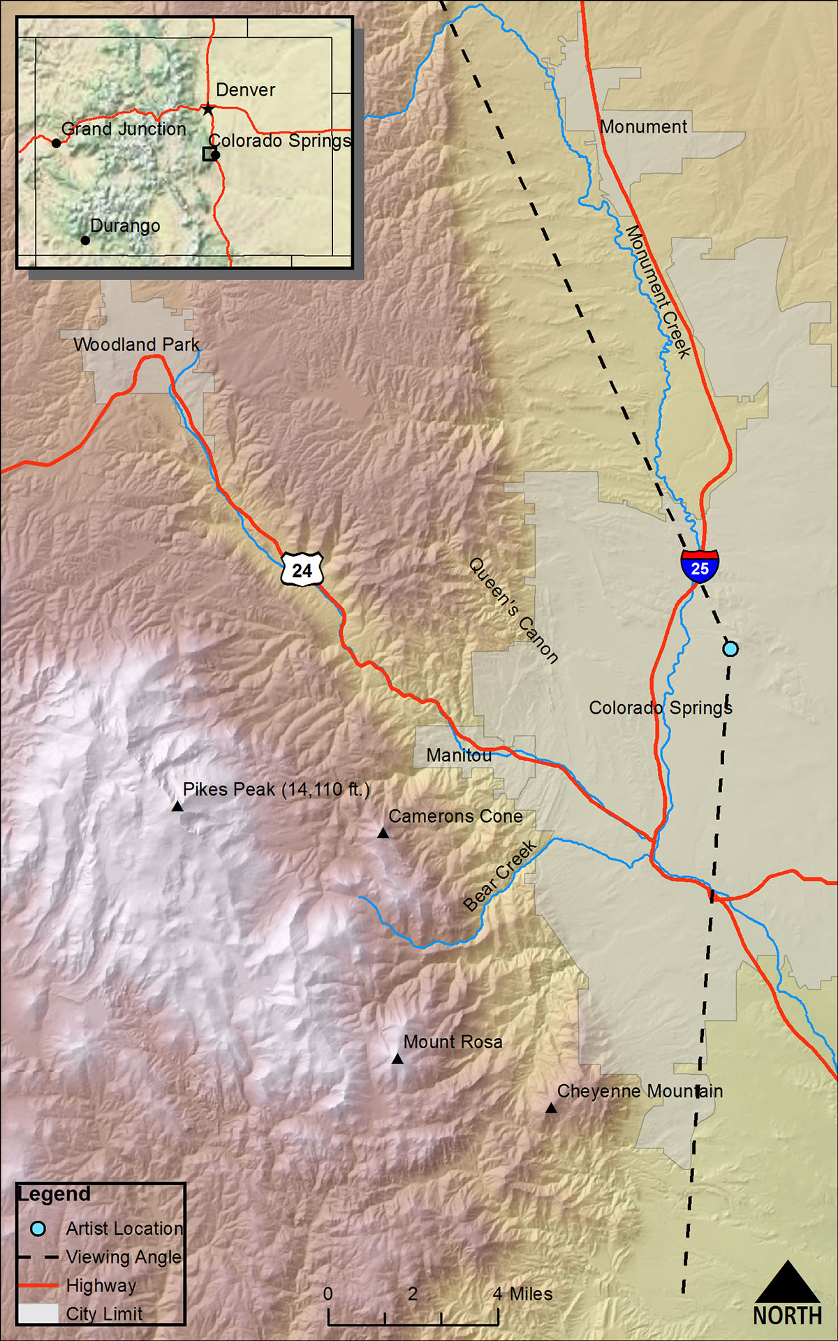 PikesPeak map
