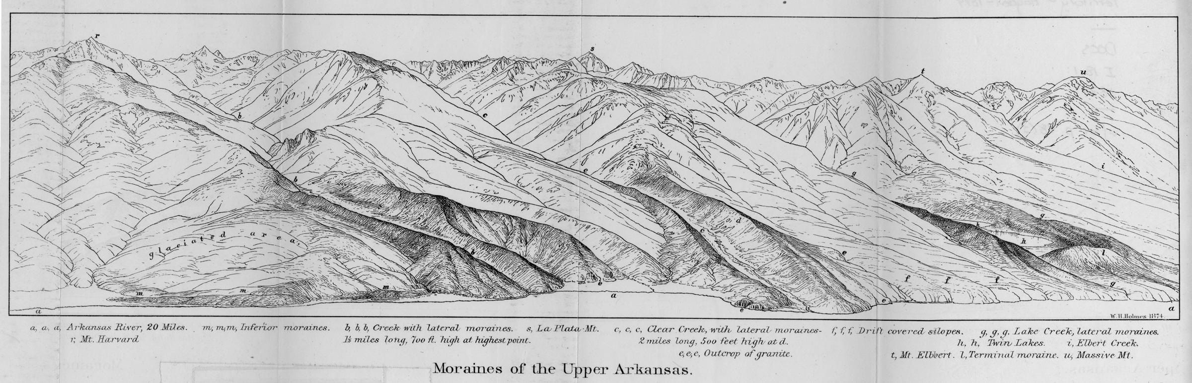 Hayden's Landscapes Revisited - Sawatch/Clear Creek